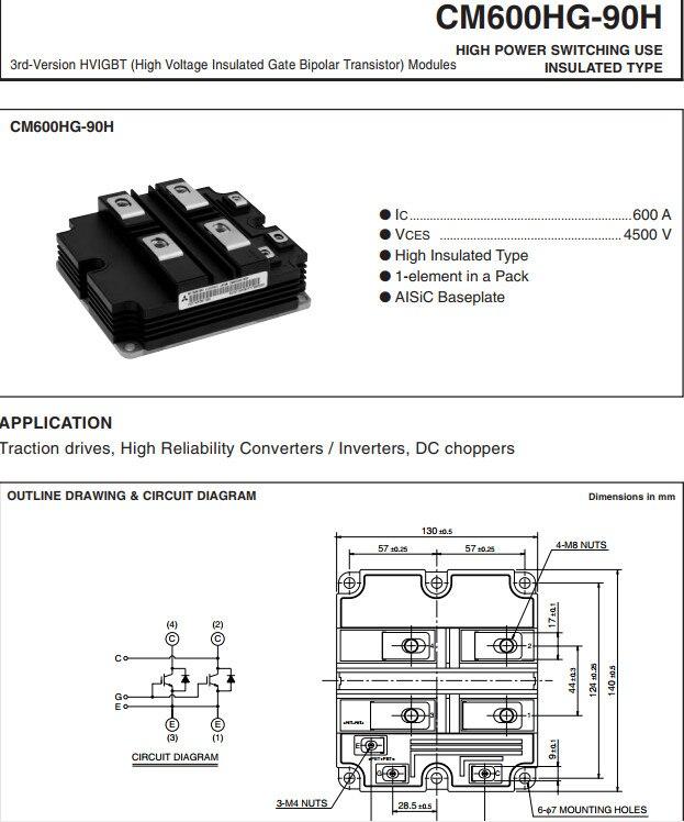 Free Shipping  NEW  CM600HG-90H MODULE