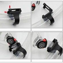 Универсальный Дайвинг силиконовый трубка Пряжка очки пряжка силиконовая пряжка-трубка силиконовая Мягкая застежка