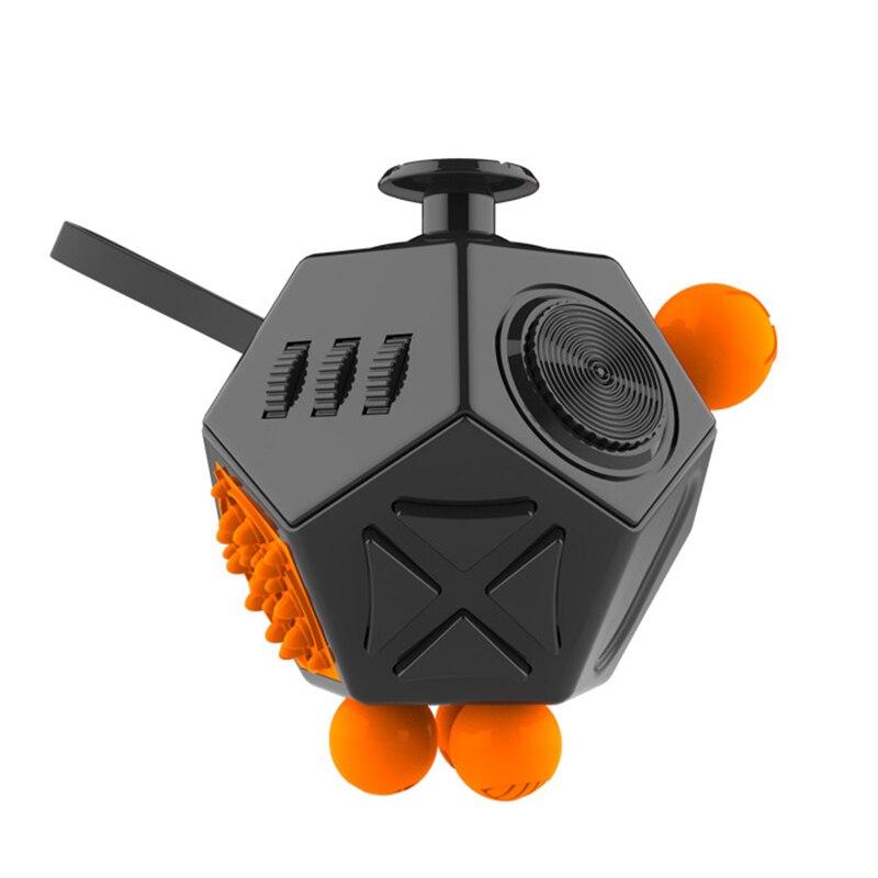 Fidget cube magique Stress amélioré 2 Antistress magique Fidget Stress soulager l'anxiété ennui doigts conseils Anti irritabilité jouets