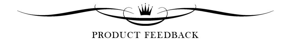 4-Product feedback