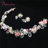 Sweet Long Flower   Wedding     Hair     Jewelry   Handmade Colorful Bride Headband Bridal Party   Hair   vine wholesale RE776