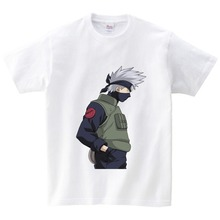 2-15Y Kid New Japanese Anime shirt Naruto Cartoon Childrens Tshirt Summer Short Sleeve Boy Girl Baby T-shirt Brand tops tee  NN