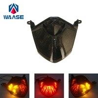 Waase Z750 Motorrad Hinten Rücklicht Brems Blinker Integrierte LED Licht Für Kawasaki Z750 2007 2008 2009 2010 2011 2012 auf