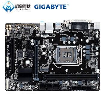 Gigabyte GA-B150M-D3V Intel B150 Original Used Desktop Motherboard LGA 1151 i7 i5 i3 DDR4 32G SATA3 USB3.0 DVI VGA M.2 Micro-ATX