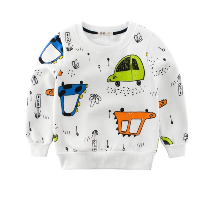 2018 Autumn Winter Children Sweaters Baby Boy Girls Thick Warm Sweaters Kids Casual Velvet Sweatshirts Kids Girls Sweaters new arrival children sweaters european and american style with shirt collar kids sweaters outerwear pullover boy s sweaters
