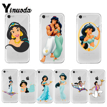 Yinuoda Aladdin Jasmine Princess Hot Fashion Fun Dynamic phone case  for Apple iPhone 8 7 6 6S Plus X XS max 5 5S SE XR Cover aladdin page 7