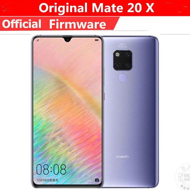 Сотовый телефон Huawei Mate 20 X 4G LTE, Kirin 980, на базе Android 9.0, экран 7,2 дюйма 2240x1080, 8 ГБ ОЗУ 256 ГБ ПЗУ, 40 Мп, NFC IP53