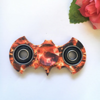 4 Colors Hand Spinner Fidget Stress Cube Batman Fidget Spinner Plastic EDC Tri-Spinner Fidget Toy Adults Focus Anti Stress Gifts