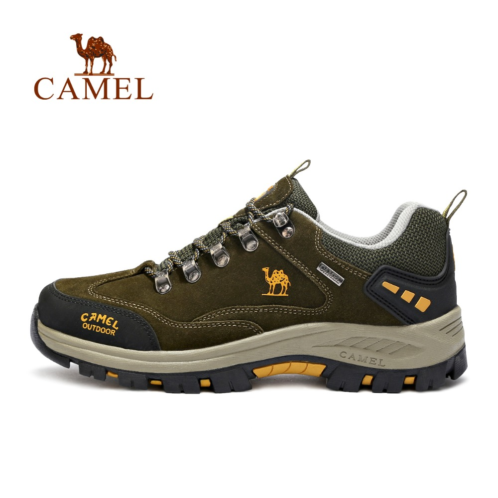 CAMEL Brand popular Outdoor Sports Hiking Shoes For Men Waterproof Anti skid Climbing Fishing Camping Trekking Sneakers