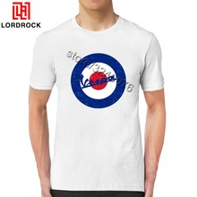 3c3cf3c93 Cool Short Sleeves Scooter T Shirt Men Round Neck Summer Tees Fashion  Graphic Target Logo Casual