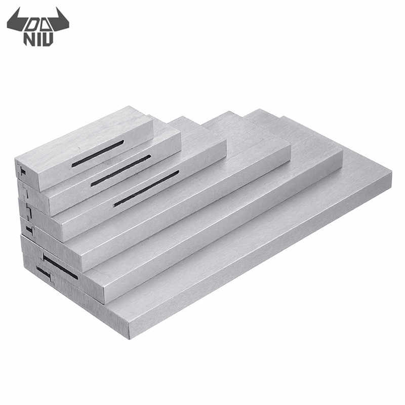 6pcs 3/8 to 2-1/4 Inch Adjustable Parallel Block Set Precision Steel Parallel Gauge Block Measurement Lathe Tools