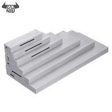 6pcs 3/8 to 2-1/4 Inch Adjustable Parallel Block Set Precision Steel P