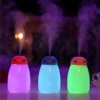 NEW 400ml USB Portable Ultrasonic Humidifier DC 5V 7 Color LED Light Mist Maker For Home