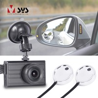 SYS 3.0'' LCD 3CH Car Dash Cam DVR System 1080P Front Facing & Side View Blind Spot Dual Waterproof Mirror Cameras recorder