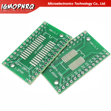 10PCS SSOP28 SOP28 TSSOP28 to DIP28 Adapter Converter PCB Board 0.65MM 1.27MM