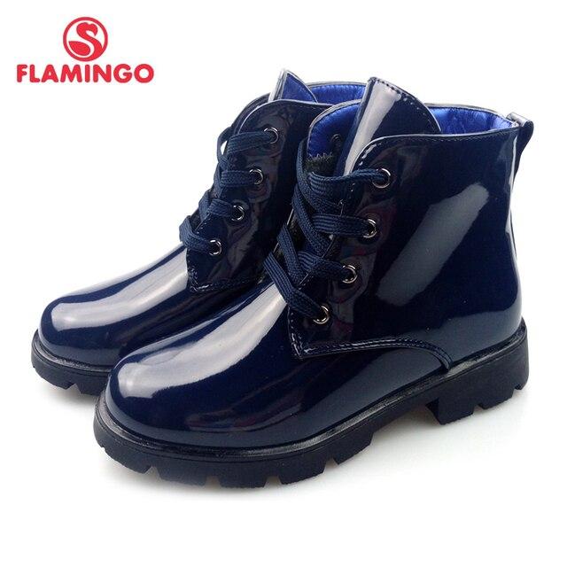 Осенние теплые детские ботинки с фламинго, высокое качество, яркая Нескользящая Брендовая обувь для девочек, размер 28-33, бесплатная доставка, 82B-XDB-0981
