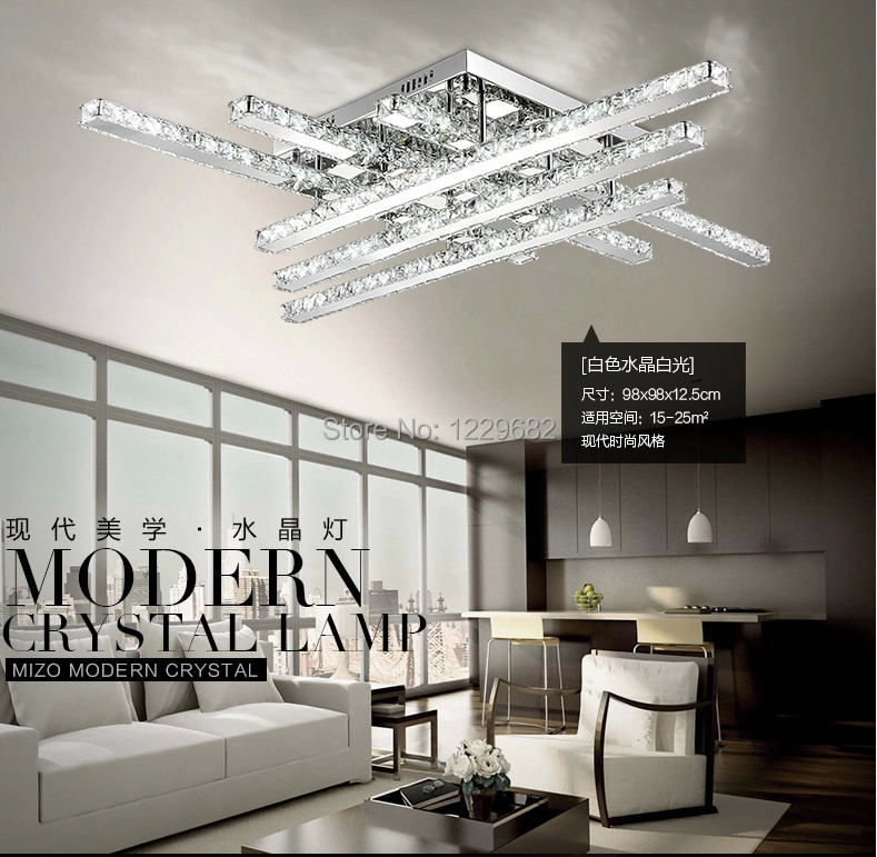 2014 Modern design Lustre Led crystal ceiling lights bed room living room home decoration lighting ceiling lamps ...
