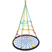 Children's Swing Amusement Park Bird's Nest Toys Indoor Outdoor Camping Nets Hanging Chairs Hammock Sets Joy(China)