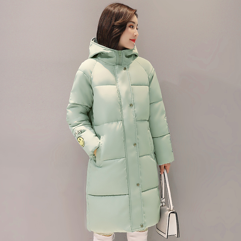 Winter Coats Women 2017 New Winter Wadded Jackets Female loose plus size Hooded Thick Warm Parkas Cotton Padded Outwear QH0694 2017 new winter coats women winter short parkas female autumn cotton padded jackets wadded outwear abrigos mujer invierno w1492