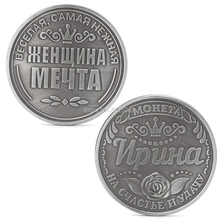 Collectible Physical Gift Russian Irina Commemorative Challenge Coins Collection H06