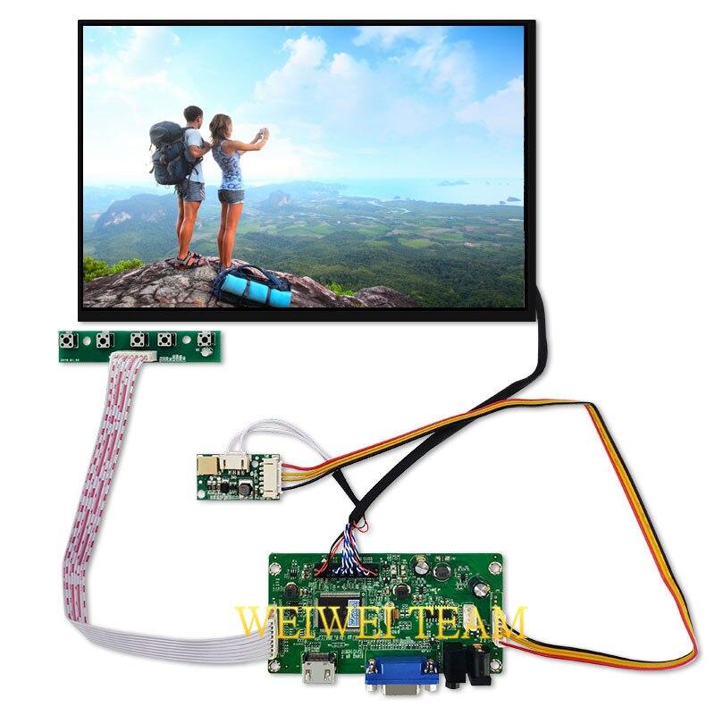 10.1 pouces 2560*1600 2 K HDMI écran LCD avec VGA EDP moniteur de carte pilote pour Raspberry Pi banane/Orange Pi Mini ordinateur