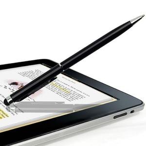 Image 4 - 20 pz/lotto 2in1 schermo di Tocco Dello Stilo Penna + Penna A Sfera per iPad iPhone Smartphone Tablet colori di radom