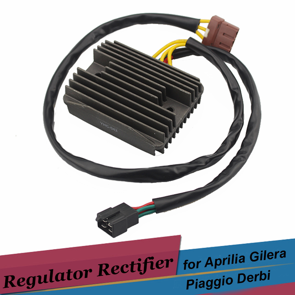 Motorcycle Voltage Regulator Rectifiers for Gilera Nexus 250 500 125 ie Fuoco 500 Derbi Rambla 300 Piaggio Beverly 250 Cruiser