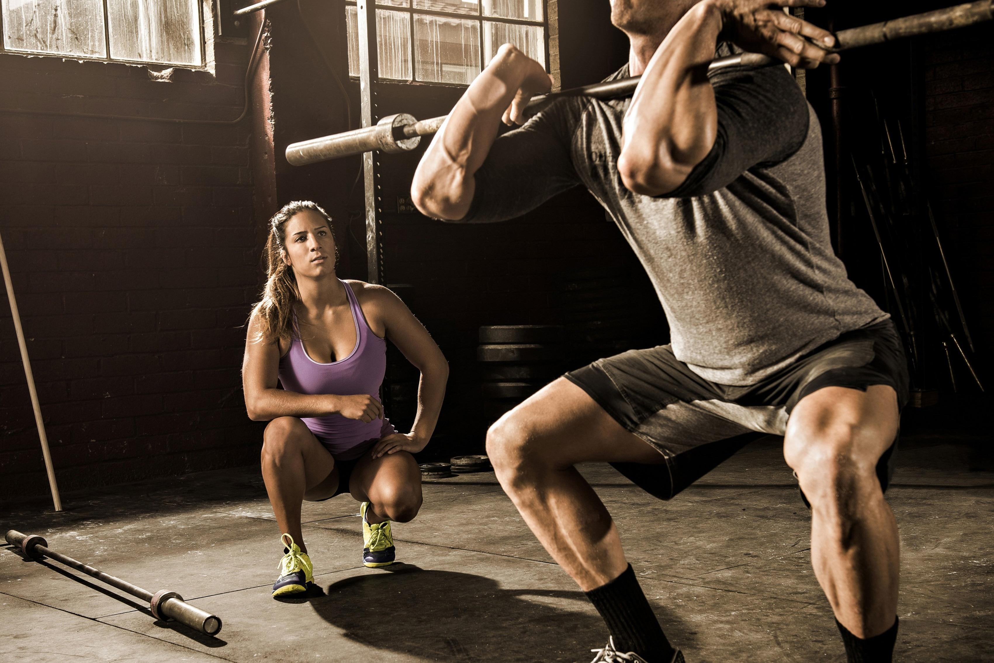 ᗑ】CrossFit entrenamiento Sala Arte decoración madera marco cartel ...