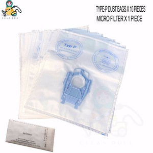 Image 4 - Replacement filter bags for BOSCH TYPE P bags BSG8 VS08 BSG8PRO1 BSG8PRO2/15 BBZ123FP BBZ41FP BSG 80000...89999 Ergomaxx bags