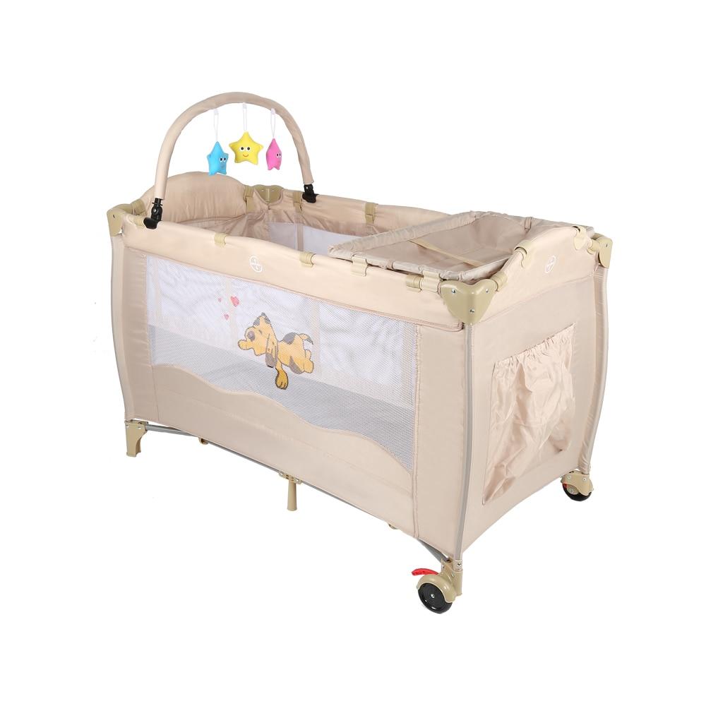 af2f51043 Bebé cuna cama de bebé cuna juego de cama Multi-función bebé cuna portátil plegable  bebé cama internacional HWC