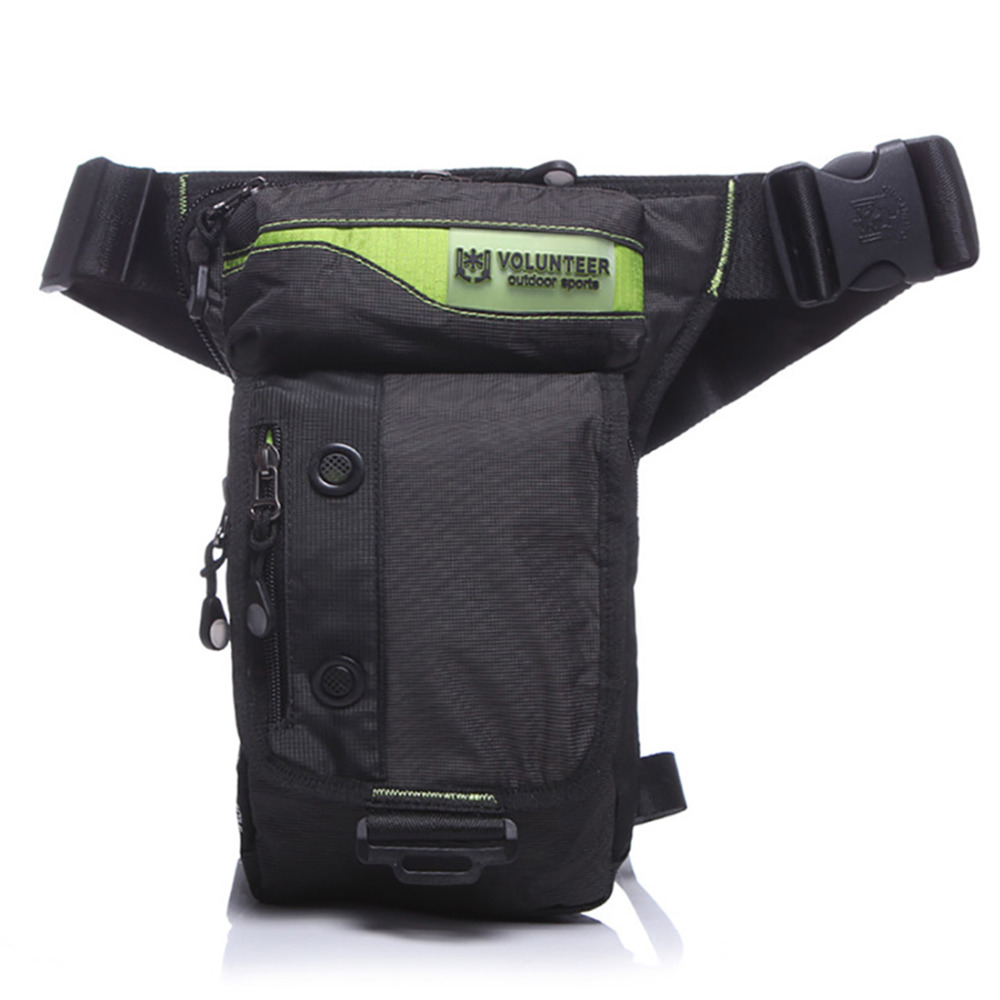 Motorcycle Waist Fanny Pack Belt Hip Pouch Casual Multi-purpose Messenger Shoulder Bags Men Waterproof Nylon Drop Leg Bag Online Discount Luggage & Bags Waist Packs