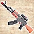 CS Juego AK 47 EVA Bala Suave Bala Paintball Pistola de Agua Orbeez Nerf Pistola de Juguete de Agua de Cristal De Bala Regalo Para Los Niños