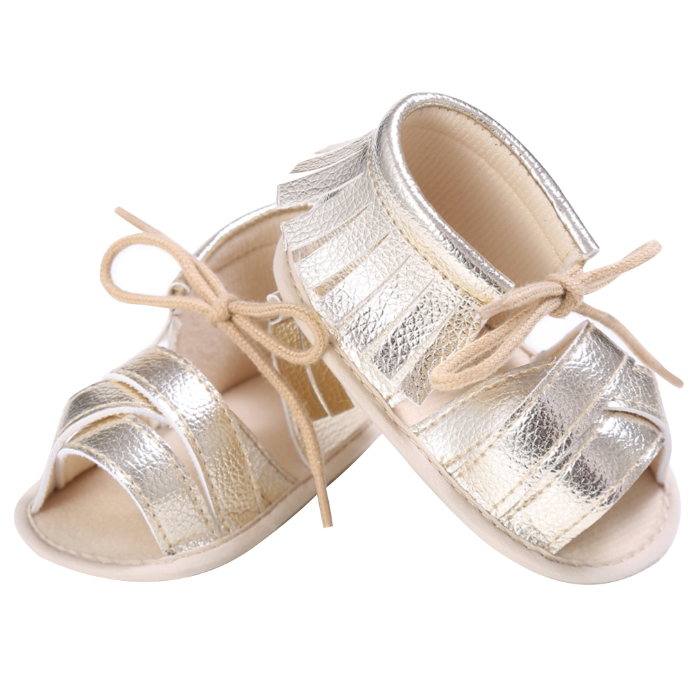 Multi Colors Summer Newborn Boy Girl Shoes PU Leather First Walker Children Fringe Footwear