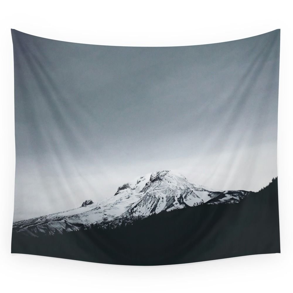 Mt. Hood X Oregon Wall Tapestry Home Living Decor Space
