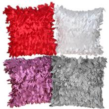 43x43 см чехол для подушки с опавшими листьями и перьями, наволочка для дома, чехол для подушки, твердая подушка с кисточками, чехлы