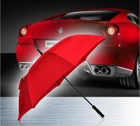 2016 Free Shipping Custom Umbrella Hot Sale 8 Spokes Long Handle The Auto Umbrella sunny/rainy Umbrella Parasol Golf Umbrellas