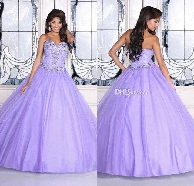 What color makes light purple dresses