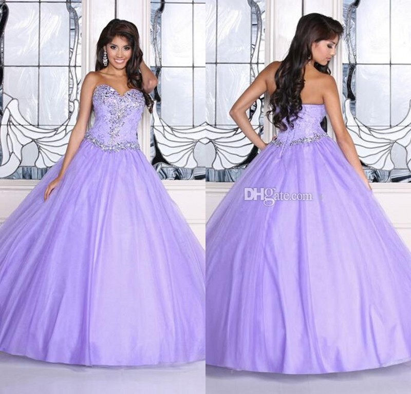 Light Purple Quinceanera Dresses Popular Purple Quincea...