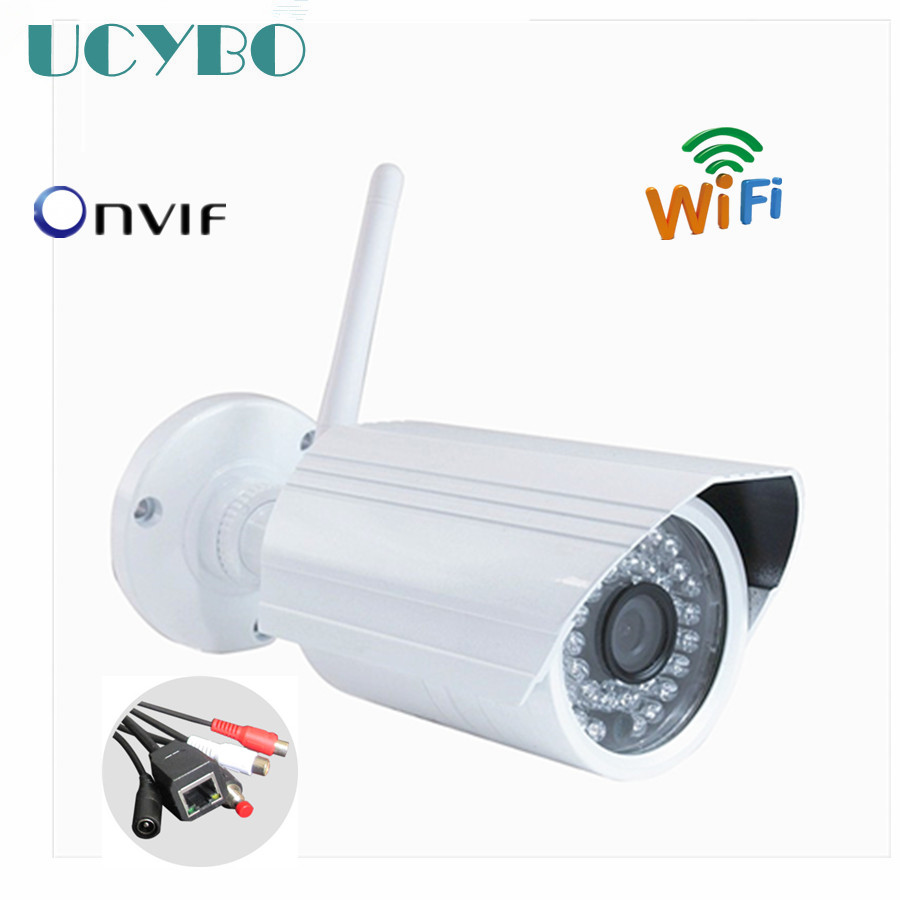 onvif 1080P 720P HD Wifi IP Camera Network outdoor Security Camera Wireless P2P CCTV video Surveillance Mini ip cam SD TF Card hd 720p 1080p wifi ip camera 960p outdoor wireless onvif p2p cctv surveillance bullet security camera tf card slot app camhi