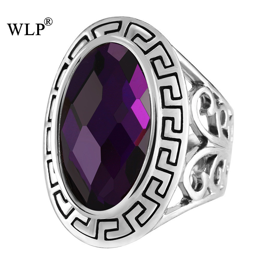 WLP 2018 New Arrival Bohemian Boho Style Rings Brand Women Antique Vintage Turkish Statement Silver Plated Finger Rings ...