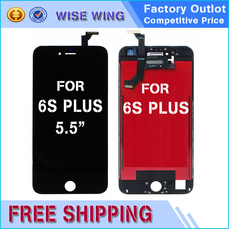10 PCS AAA Quality White Black For iPhone 6s plus LCD Touch Screen Digitizer Tempered Glass Alibaba Aliexpress highscreen MLLSE
