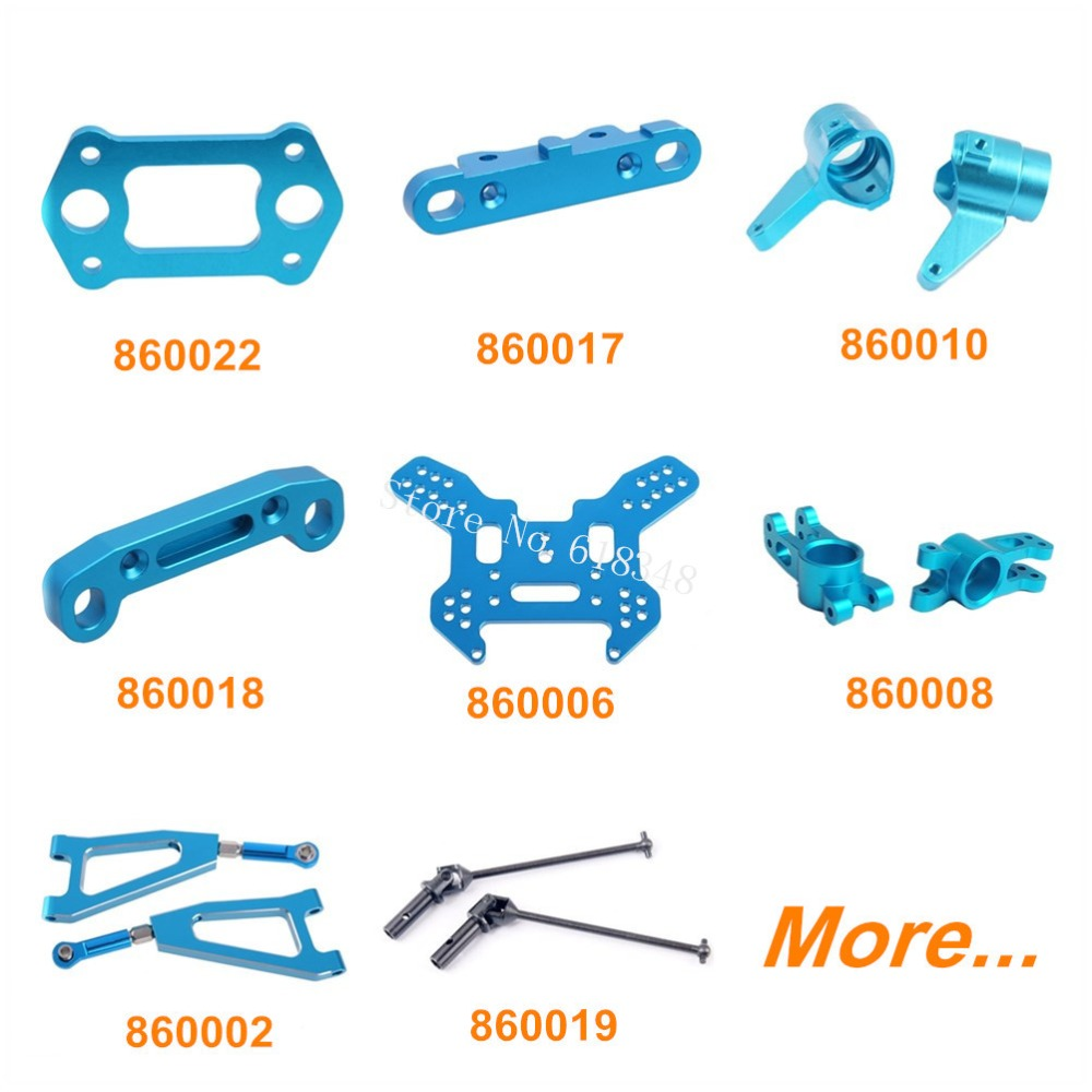 HSP Camper Upgrade Parts Aluminum for RC 1/8 Nitro Power Universal Off Road Buggy 94860 Alloy Spare Replacement Option 1 pair hsp 106019 aluminum front lower suspension arm 06011 for 1 10th upgrade parts off road buggy warhead fit redcat