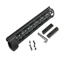 Newly design AR-15/M16 KeyMod 12 inch  Series One Piece Free Float Handguard