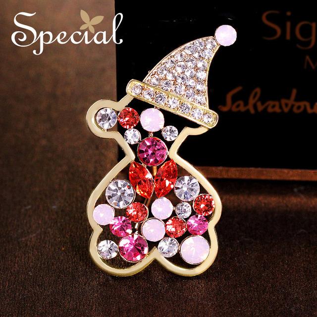 Special new fashion banhado a ouro broches pinos cz diamante lindo buquê broche jóias 2017 presentes de luxo para as mulheres s1618b