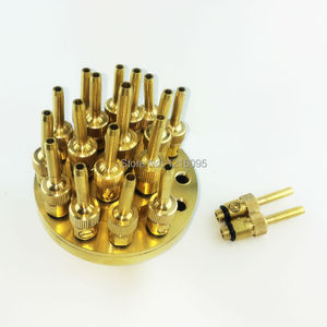 """Image 4 - High Quality 1.0"""" DN25 1.5"""" DN40 3 Layers Flower Typed Fountain Nozzles Spray Head Pond"""