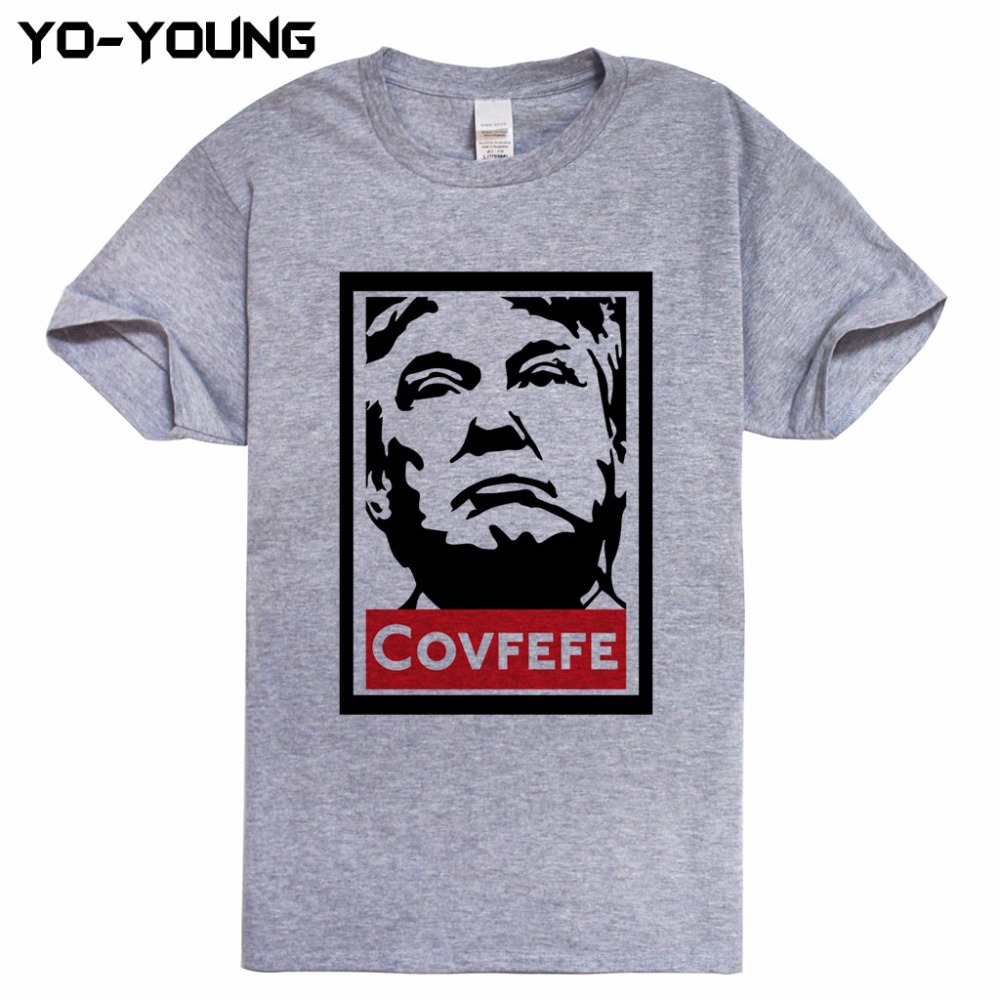 newest covfefe donald trump men t shirts funny digital print 100 cotton tee shirt homme more. Black Bedroom Furniture Sets. Home Design Ideas