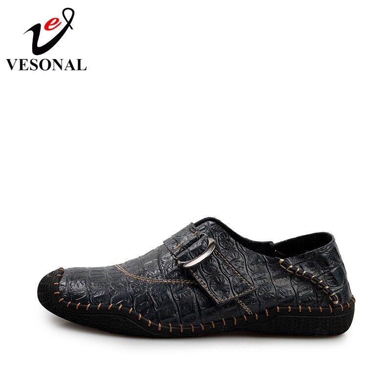 Marque 807 Véritable Hommes brown Shoes Shoes En Hasp Sur Designer D'été Dark Glissement Vesonal Blue green Main Mocassins Mode Chaussures Mâle Cuir Casual Sneakers 4wfIT