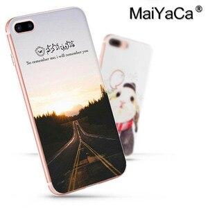 Image 5 - MaiYaCa arabski koran islamskie cytaty muzułmanin moda etui na telefony dla iphone SE 2020 11 pro 8 7 66S Plus X 5S SE XR XS XS MAX