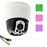 501 AHD12X Zoom Outdoor 30m Laser IR CUT HD Clear Night Version OSD Menu PTZ CCTV