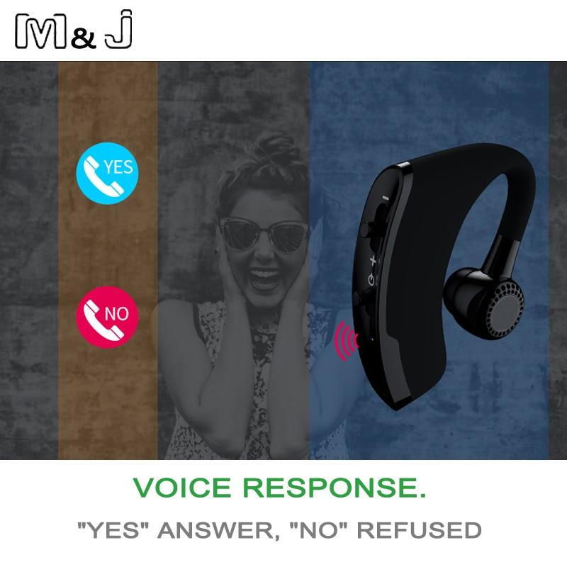 M & J V9 сымсыз Bluetooth гарнитурасы Бизнес - Портативті аудио және бейне - фото 4